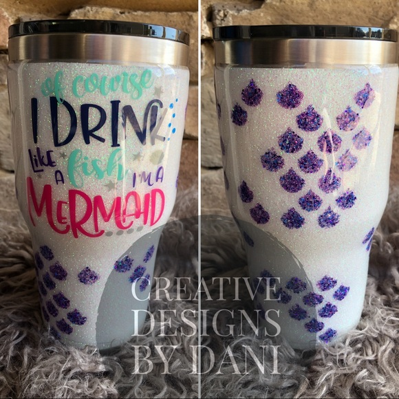 Other Stainless Steel Mermaid Tumbler Poshmark